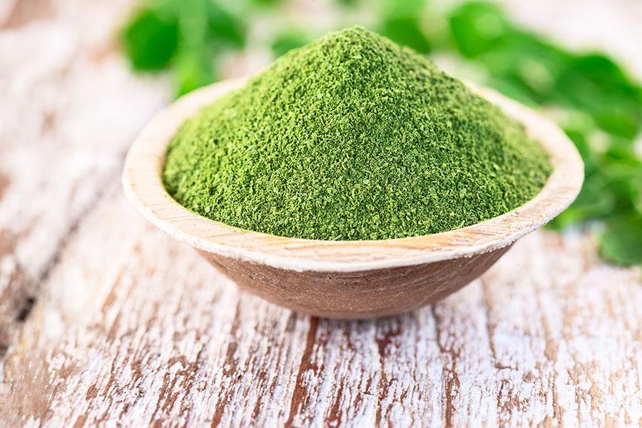 Moringa Rich source of protein, fibre