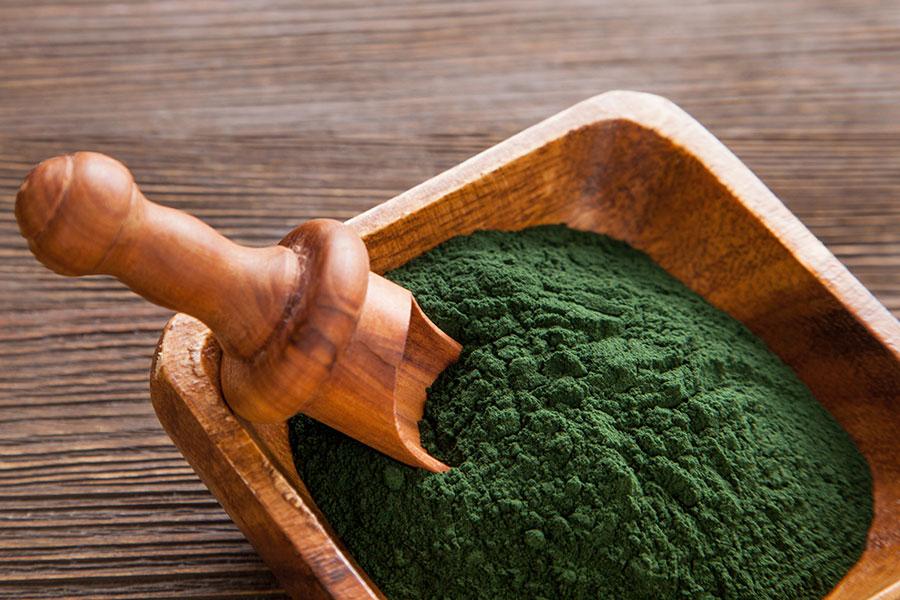 chlorella high in B vitamins Australia